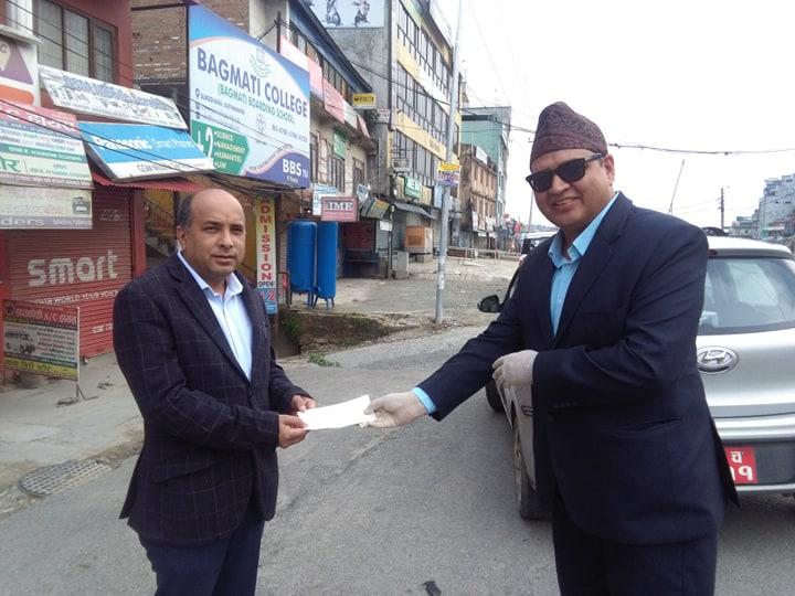 हेल्प नेपालद्वारा कोविड–१९ रोकथामका लागि स्वास्थ्य सामाग्री खरिद गर्न पाँच लाख सहयोग