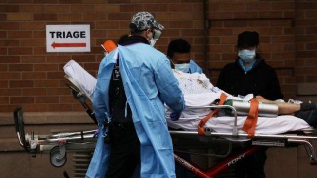 कोरोना भाइरसबाट न्यूयोर्कमा मात्रै ३,५०० को मृत्यु