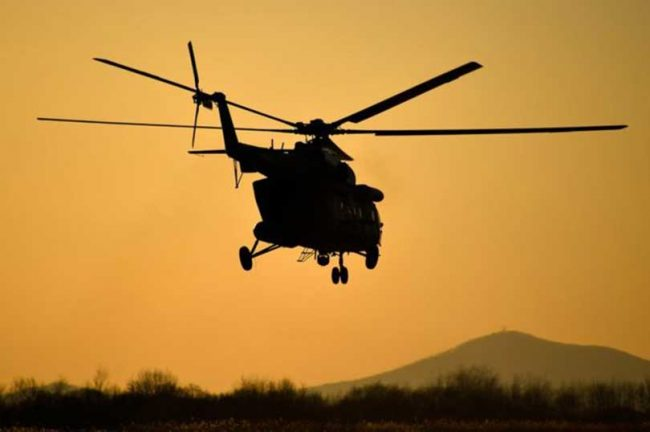 पहिरोका घाइतेलाई हेलिकप्टरमार्फत काठमाडौँ