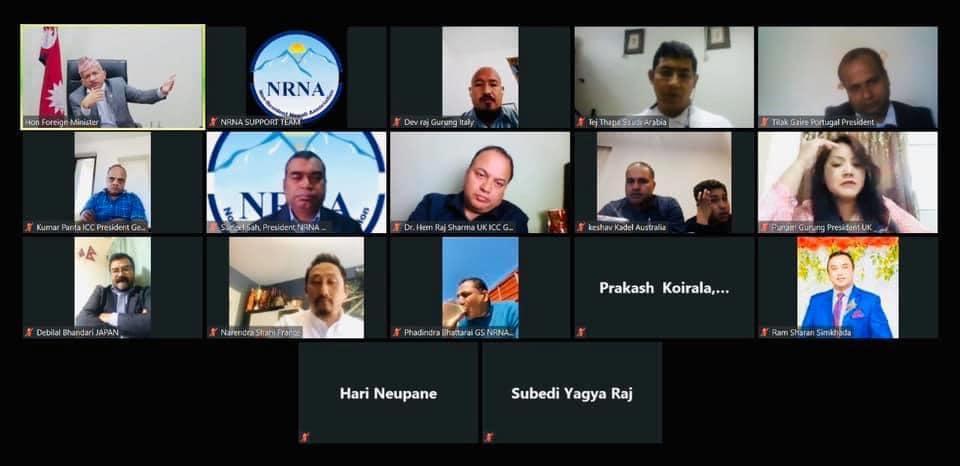 परराष्ट्रमन्त्रीकाे आश्वासन : अवस्था अनुकूल हुने वित्तिकै विदेशमा अलपत्र नेपाली फर्काउछौं