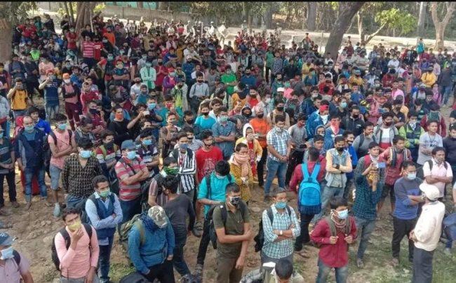 भारतबाट आएका हजार जना आफ्नै घरमा