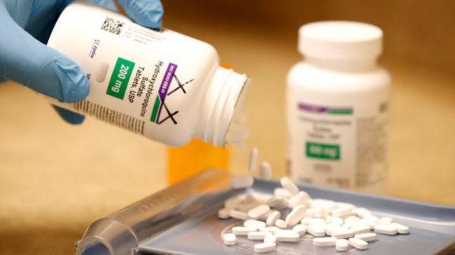 सुरक्षा त्रासका कारण कोभिड-१९ मा औलोविरूद्धको औषधिको परीक्षणमा डब्ल्यूएचओद्वारा रोक