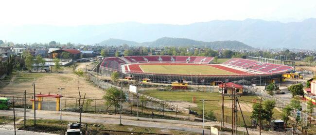 लकडाउनमै तयार भयो वैकल्पिक फुटबल मैदान