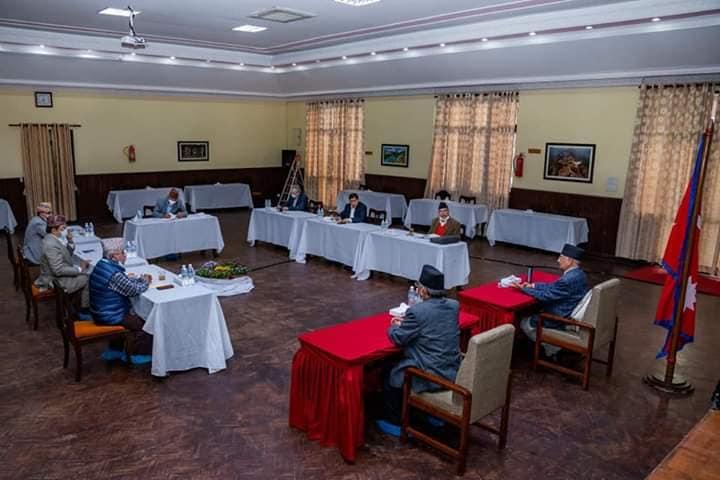 माधव नेपाल होम आइशोलेशनमा बसेपछि नेकपा सचिवालय बैठक अनिश्चित