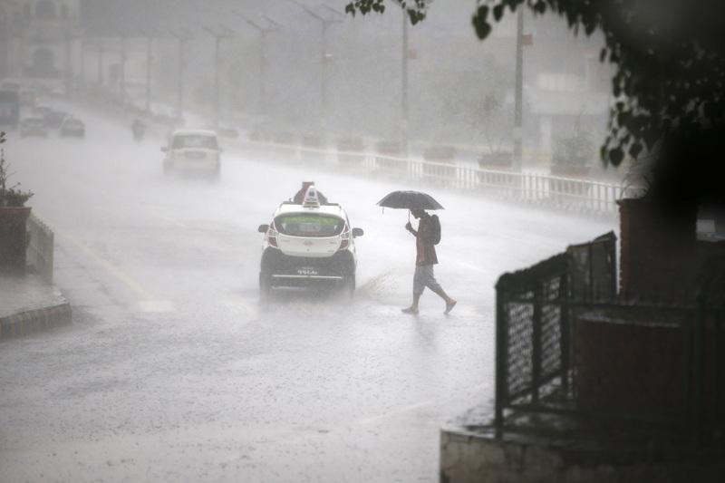 काठमाडौँसहित अधिकांश स्थानमा वर्षा