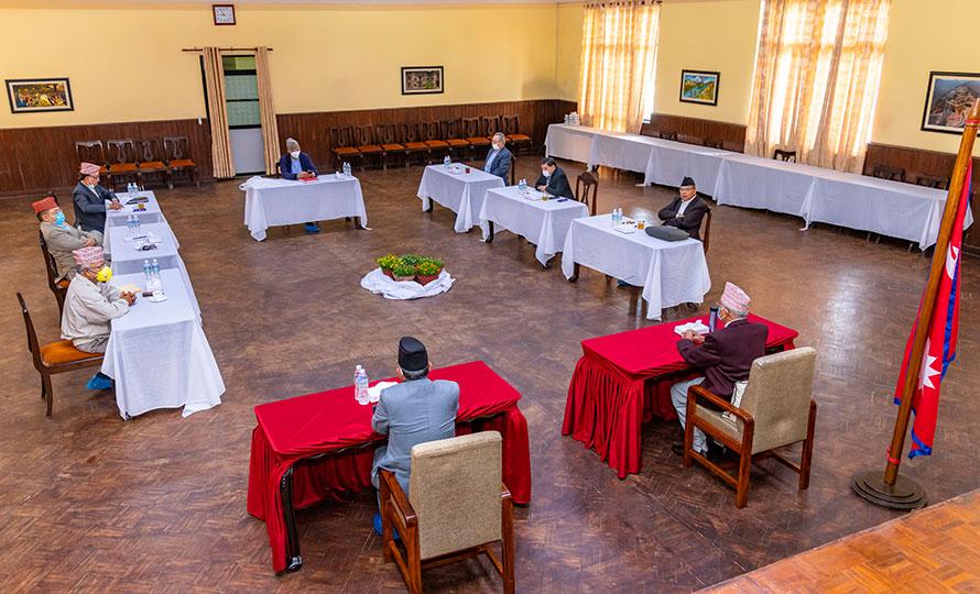 नेकपा सचिवालय बैठक : संवैधानिक निकायमा पदपूर्ती गर्न सरकारलाई आग्रह