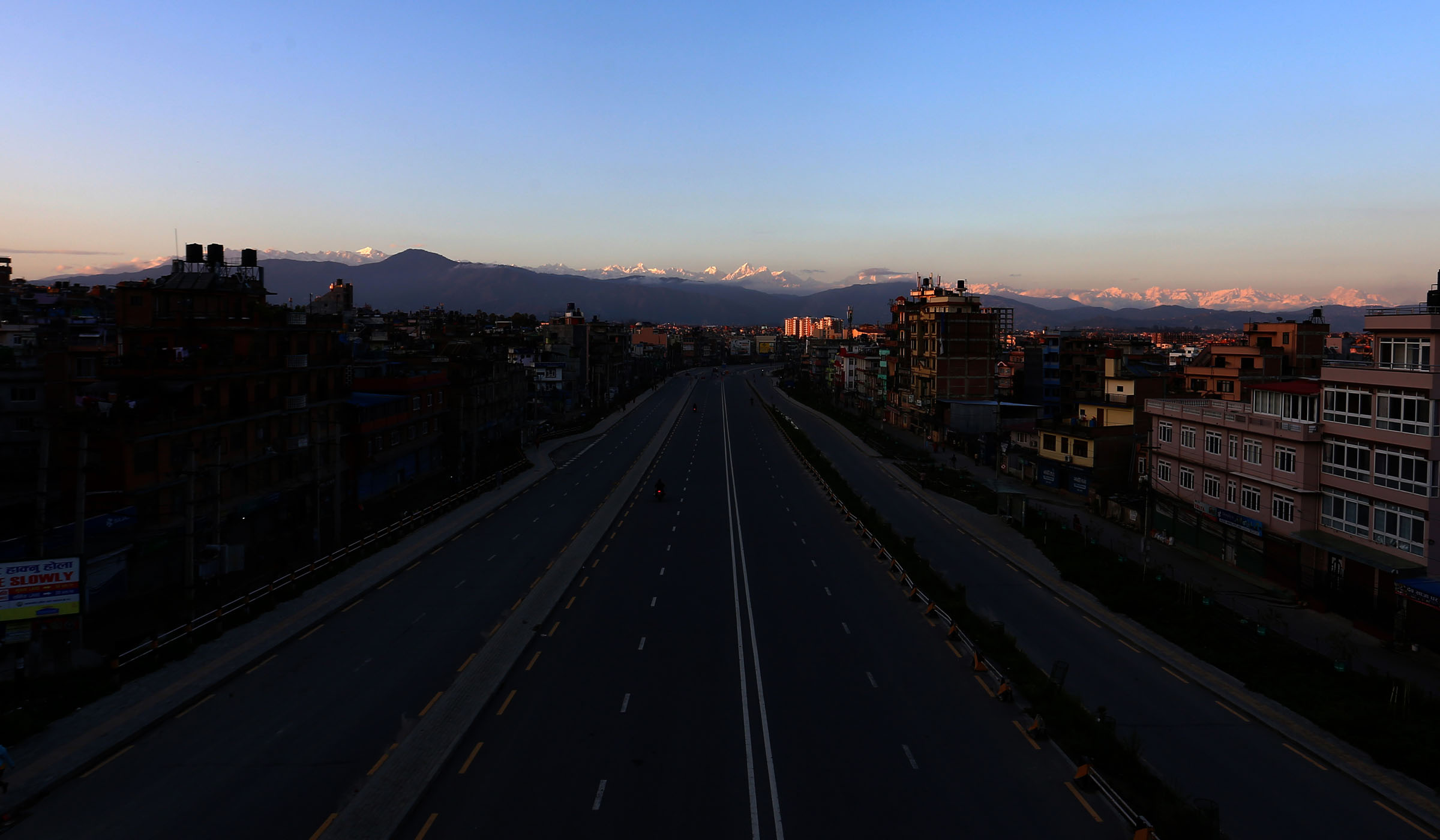 काठमाडौँ उपत्यका तथा त्यस वरपर क्षेत्रका दृश्य
