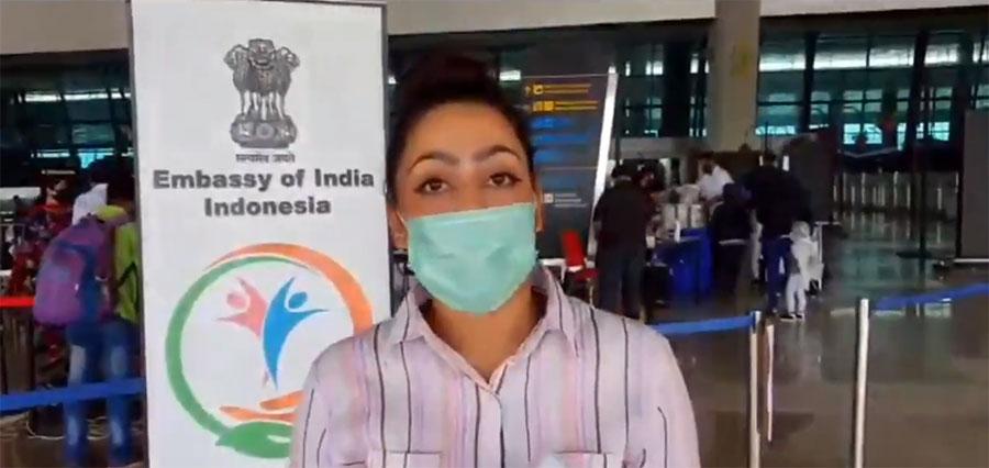 इन्डोनेसियामा अलपत्र परेकी नेपाली विद्यार्थी शेभिकाको भारतीय दूतावासमार्फत उद्धार