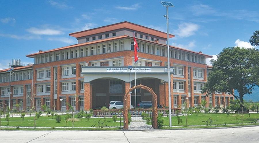 अस्तव्यस्त बन्दै विश्वविद्यालयः कामुले नै दिन थाले कामु