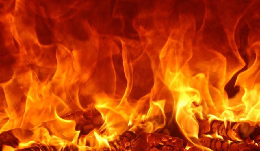 कपिलवस्तु आगलागीमा जले नौ घर