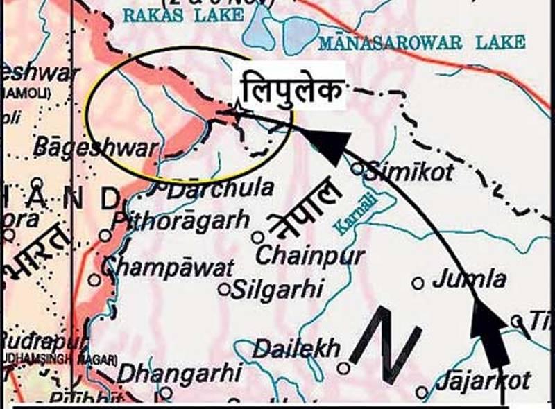 लिपुलेकमा चीन र भारतले बढाए सैन्य गतिविधि