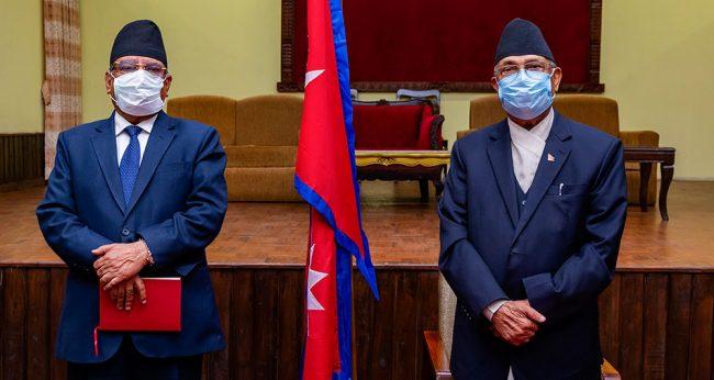 नेकपा विवादः प्रतिक्षा ओलीको प्रस्तावको