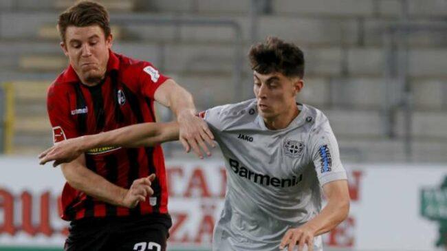 बुन्डेसलिगा : हावेर्टजको किर्तिमान संगै लेवरकुसेन द्धारा फ्रेबर्ग १–० ले पराजित