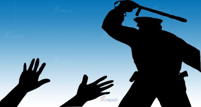 क्वारेन्टिनमा खाना खुवाउने विषयमा विवाद हुँदा प्रहरीद्वारा कुटपिट