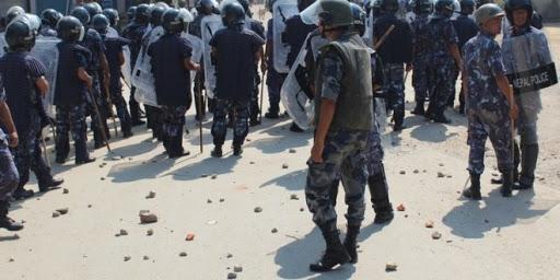 सर्लाहीमा सशस्त्र प्रहरी र भारतीय नागरिकबीच झडप, एक राउण्ड हवाई फायर