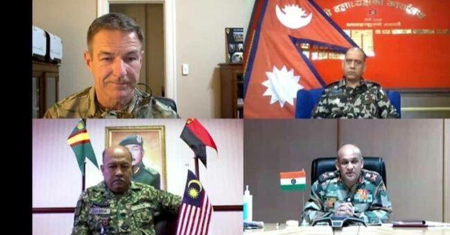 इण्डो प्यासिफिक सैनिक सम्मेलनमा नेपाली सेनाका रथीको सहभागिता
