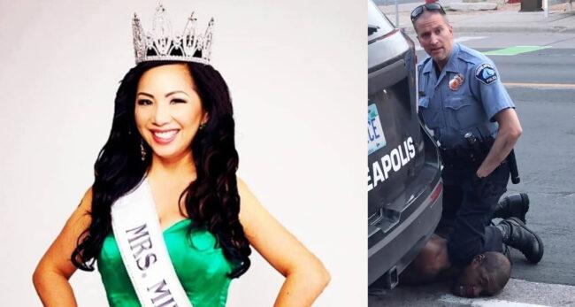 फ्लोएड हत्या आरोपी पुलिस अधिकारीकी पत्नीले डिभोर्स निवेदनमा थर फेर्न माग गरिन्