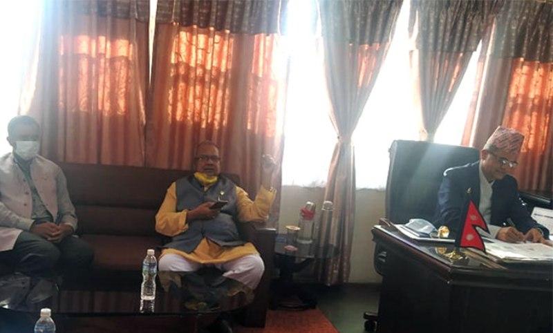 राजपा र समाजवादी पार्टीको संविधान संशोधन विधेयक दर्ता