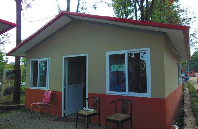 जनता आवासअन्तर्गत कटहरीमा १५ घर शिलान्यास