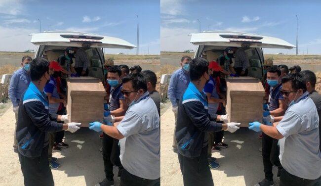 इराकमा ज्यान गुमाएका पौडेलको उतै दाहसंस्कार