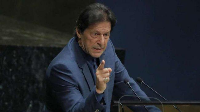 पाकिस्तानी प्रधानमन्त्री बोल्न थालेपछि भारतद्वारा राष्ट्र संघको महासभाबाट वाकआउट