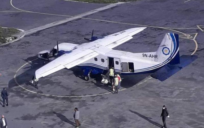 तीन महिनापछि मुगुमा हवाई सेवा शुरु