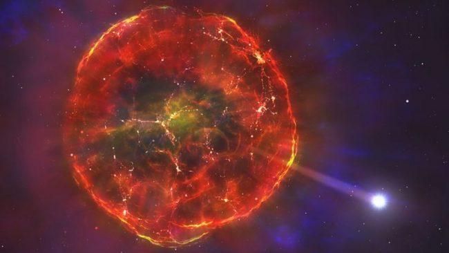 ठूलो विस्फोटनपछि तीव्र गतिमा आकाशगङ्गामा हुत्तिएको एउटा 'अद्वितीय' तारा