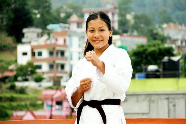 अनलाइन करातेमा नेपाललाई १० पदक