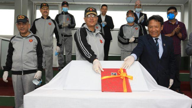 एन्फाद्बारा नेपाली सेनालाई सहयोग प्रदान