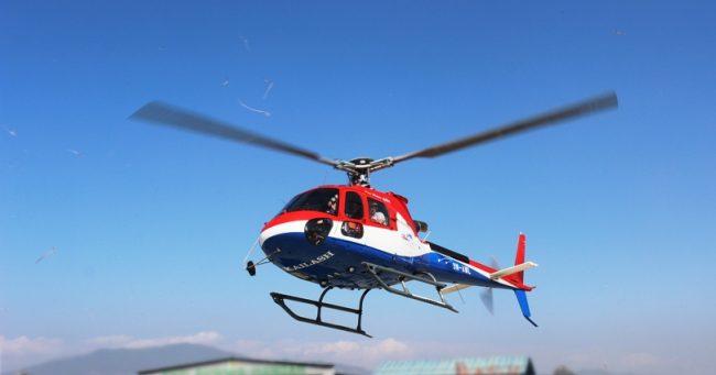 बाह्रबीसेका २ गम्भीर घाइतेलाई हेलिकप्टरबाट काठमाडौँ ल्याइयो