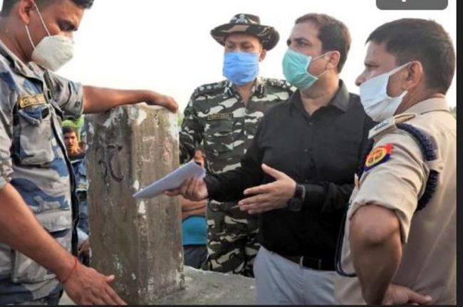 भारतीयको अवरोधपछि हुलाकी राजमार्ग निर्माणको काम रोकियो