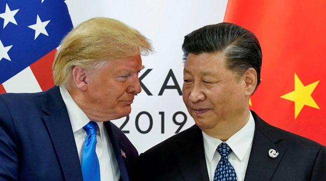 अमेरिकामाथि चीनको जवाफी कारवाही