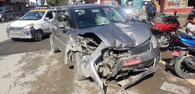 बूढानिलकण्ठ कार दुर्घटनाका चालक पाँच लाख धरौटीमा रिहा
