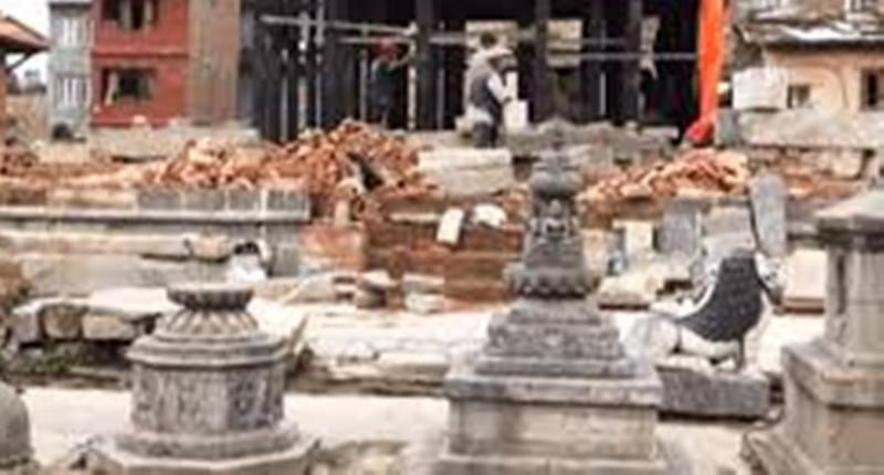 रातो मच्छेन्द्रनाथ मन्दिर पुनःनिर्माण शुरु