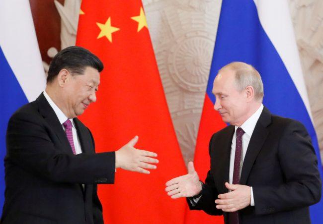 चीन र रूसबीच व्यापार घाटा छ प्रतिशतले वृद्धि