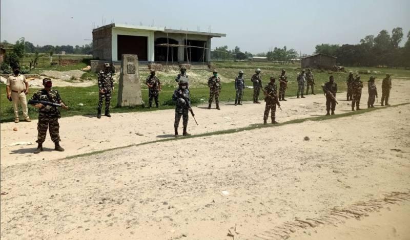 नेपालले भारतीय भूमिमा बन्न लागेको संरचना रोकेको आरोप