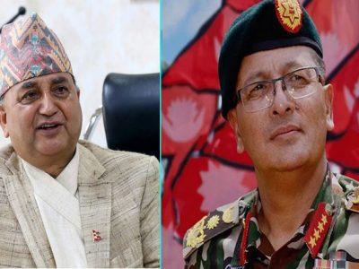 नेपाली सेनासँग किन बागिंँदैछन् रक्षामन्त्री ?