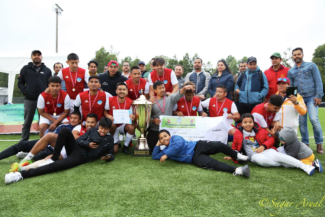 नर्वेमा एभेरेस्ट कप युरोप २०२० सम्पन्न