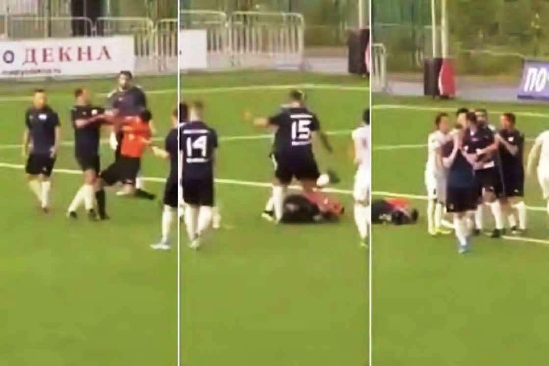 पूर्व रूसी कप्तानको कुटपिटका कारण फुटबल रेफ्री अस्पताल भर्ना