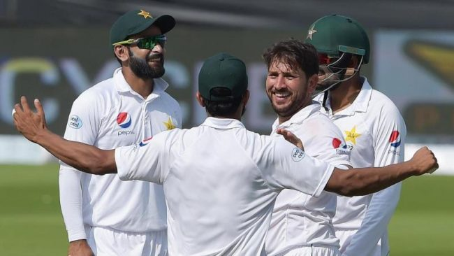 ईङल्यान्ड बिरुद्व टेस्टको लागि पाकिस्तानी टोलीको घोषणा