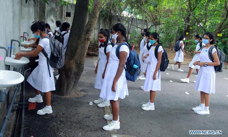 श्रीलङ्कामा विद्यालयहरु पुनः सञ्चालन