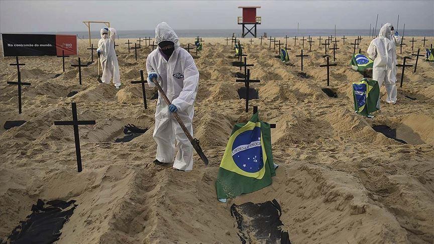 ब्राजिलमा कोरोना संक्रमणबाट एक लाख ७३ हजारको मृत्यु