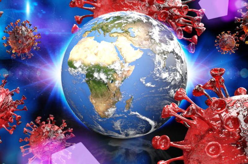 विश्वमा कोरोना :  २४ घण्टामा ५ लाख ७३ हजार संक्रमित थपिए, अमेरिकामा मात्र १ लाख १ हजार बढी