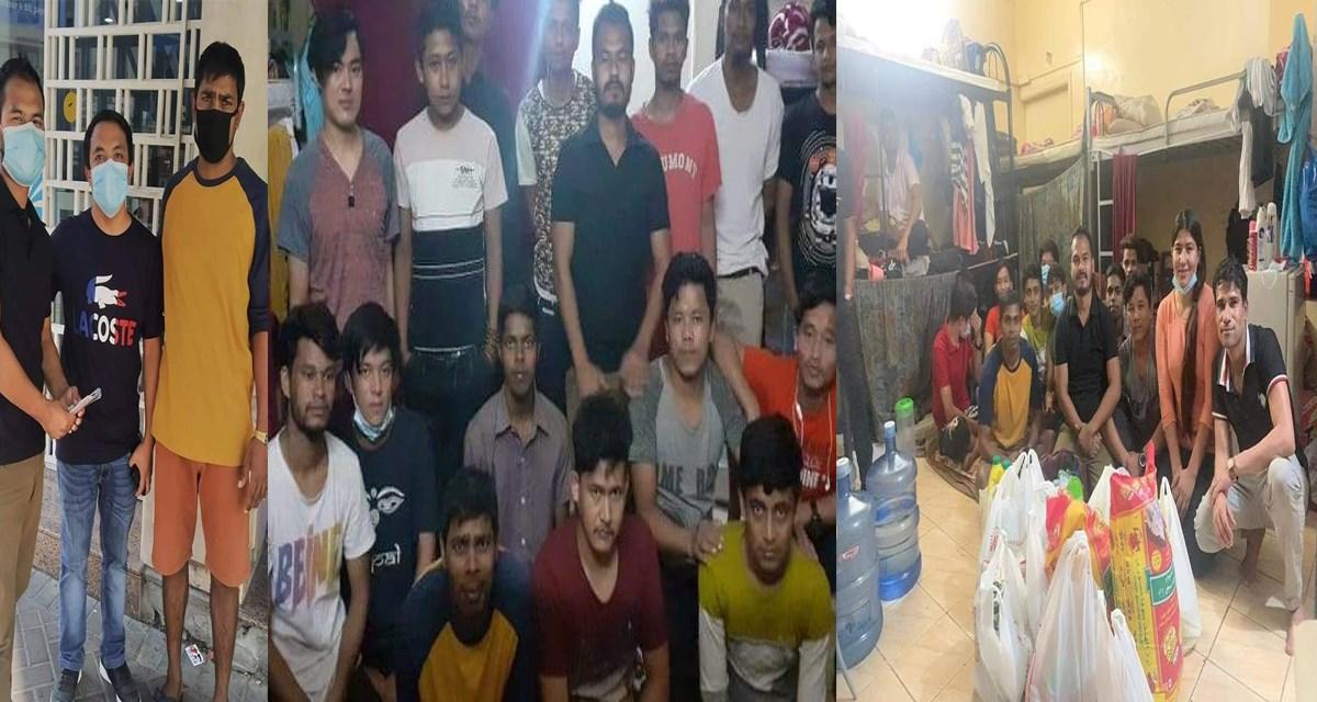 युएईमा अलपत्र नेपाली कामदारलाई  खाद्यान्न सहयोग, देश फर्किने अन्यौल यथावत