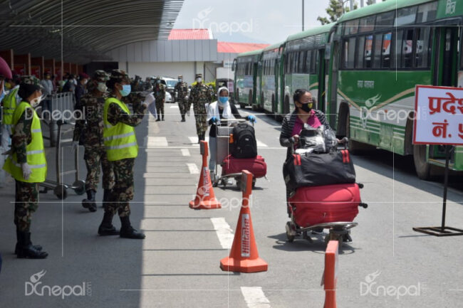 काेराेना कहर : ७६ हजार ९६७ नेपाली स्वदेश फर्किए