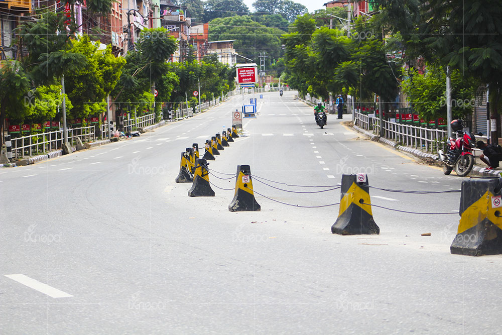 ललितपुरमा कर्फ्यू जारी भएपछिको दृश्य (फोटोफिचर)