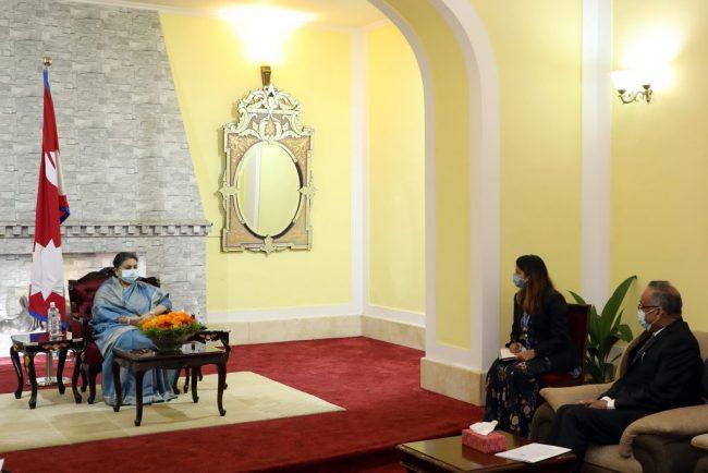 नेपाल र पाकिस्तानबीच सांस्कृतिक तथा जनस्तरको सम्बन्ध विस्तारका लागि पारस्परिक सहकार्यको सम्भावना : राष्ट्रपति भण्डारी