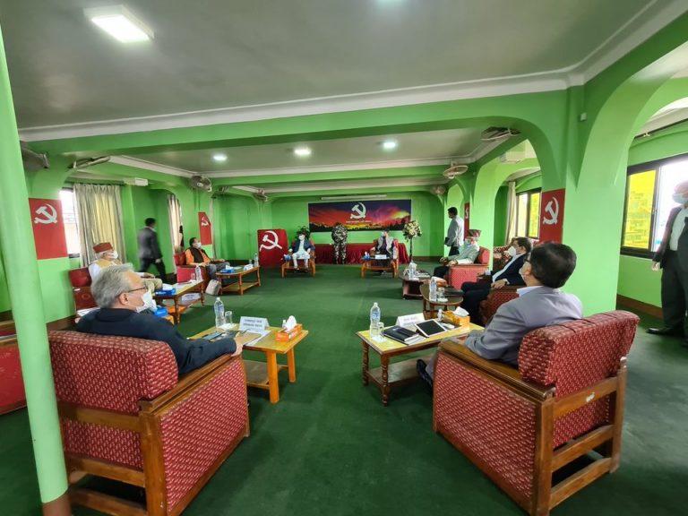 नेकपा सचिवालय बैठक बस्दै : मन्त्रिपरिषद पुनर्गठन र संवैधानिक निकायमा नियुक्तका विषयमा छलफल हुने
