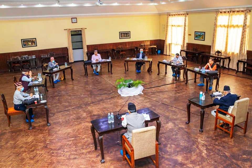 प्रधानमन्त्री ओलीको प्रस्तावमा नेकपा सचिवालय पेरिसडाँडामा बस्दै