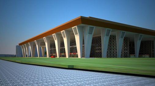 गोदावरीमा निर्माणाधीन अन्तर्राष्ट्रिय सम्मेलन केन्द्र ७० प्रतिशत सम्पन्न